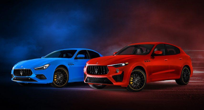 Maserati Ghibli y Levante F Tributo Special Edition 2021