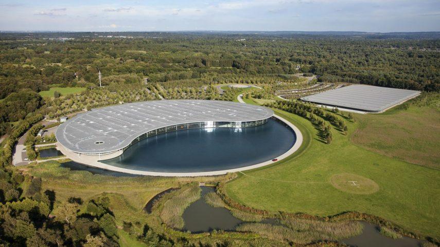 McLaren hace efectiva la venta de su sede en Woking