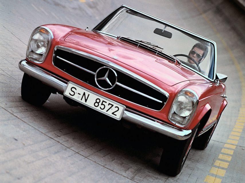 """Coche del día: Mercedes-Benz 230/250/280 SL """"Pagoda"""" (W113)"""
