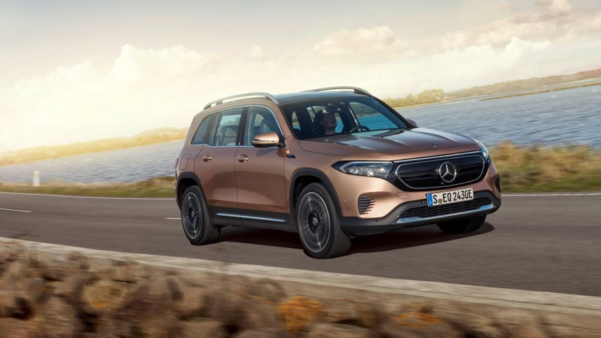 Mercedes-Benz EQB 2022, el cuarto integrante eléctrico de la casa