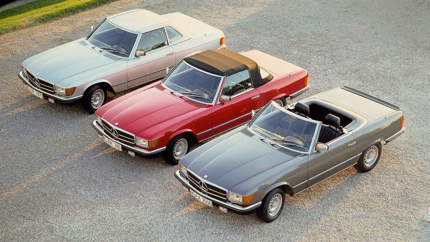 Coche del día: Mercedes-Benz SL (R107)