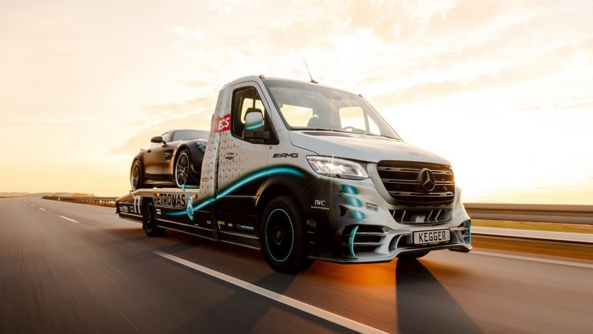 Mercedes-Benz Sprinter 319 Petronas Edition by Kegger, 25 unidades muy especiales