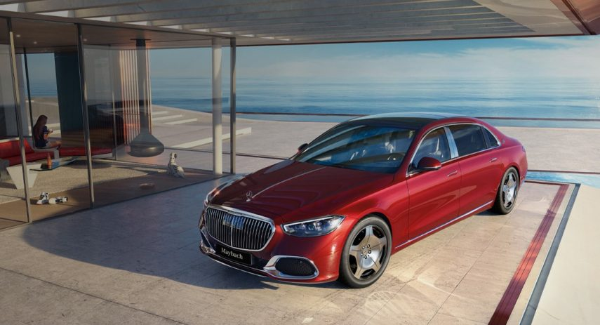 Mercedes Maybach S480 2021 China (2)