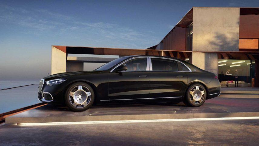 Mercedes Maybach S480 2021 China (6)