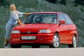 Opel Astra 3p GSi 16v 1991