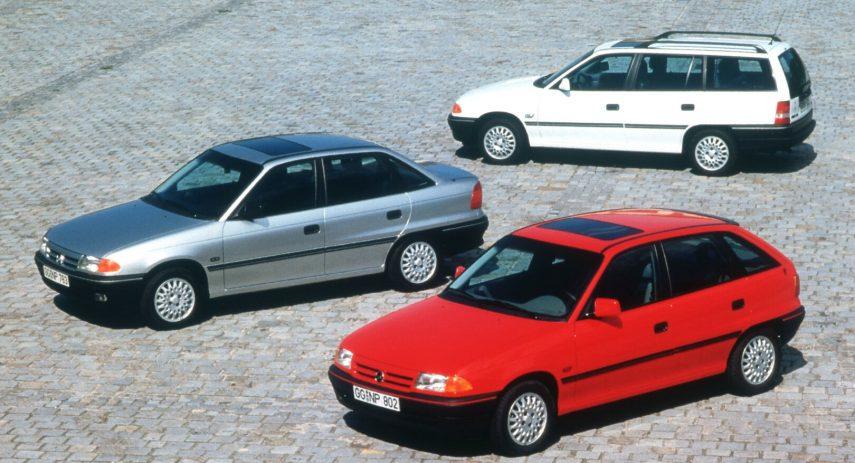 Opel Astra gama 1991