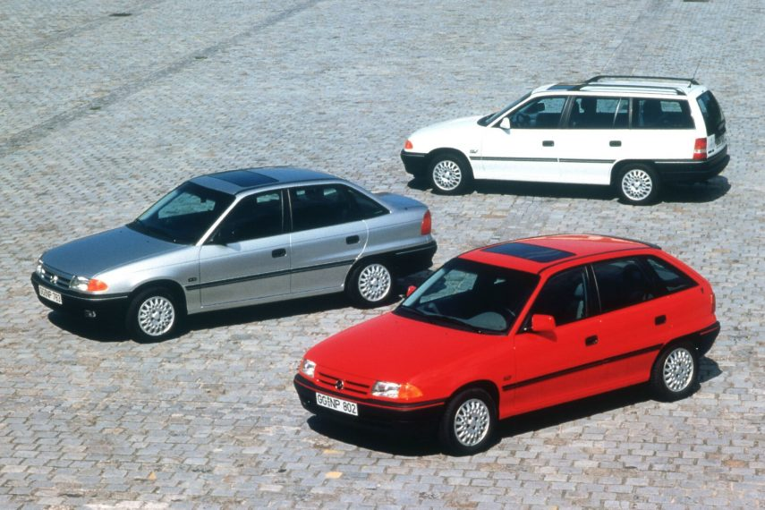 Coche del día: Opel Astra (F)