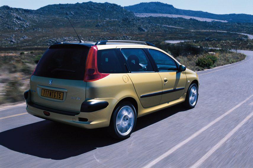 Peugeot 206 SW XS 3
