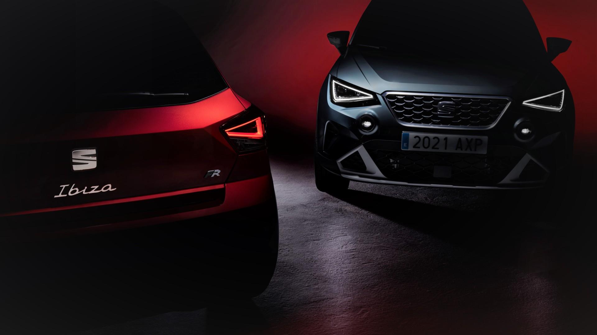 El SEAT Ibiza y el SEAT Arona se actualizan de cara a 2021