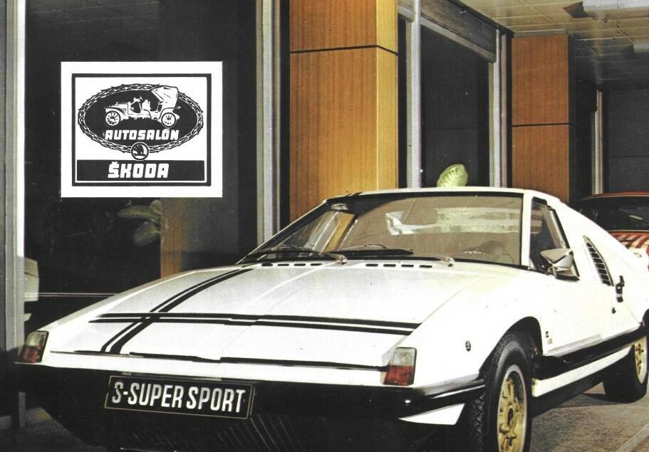 Skoda 110 Super Sport 1971 1