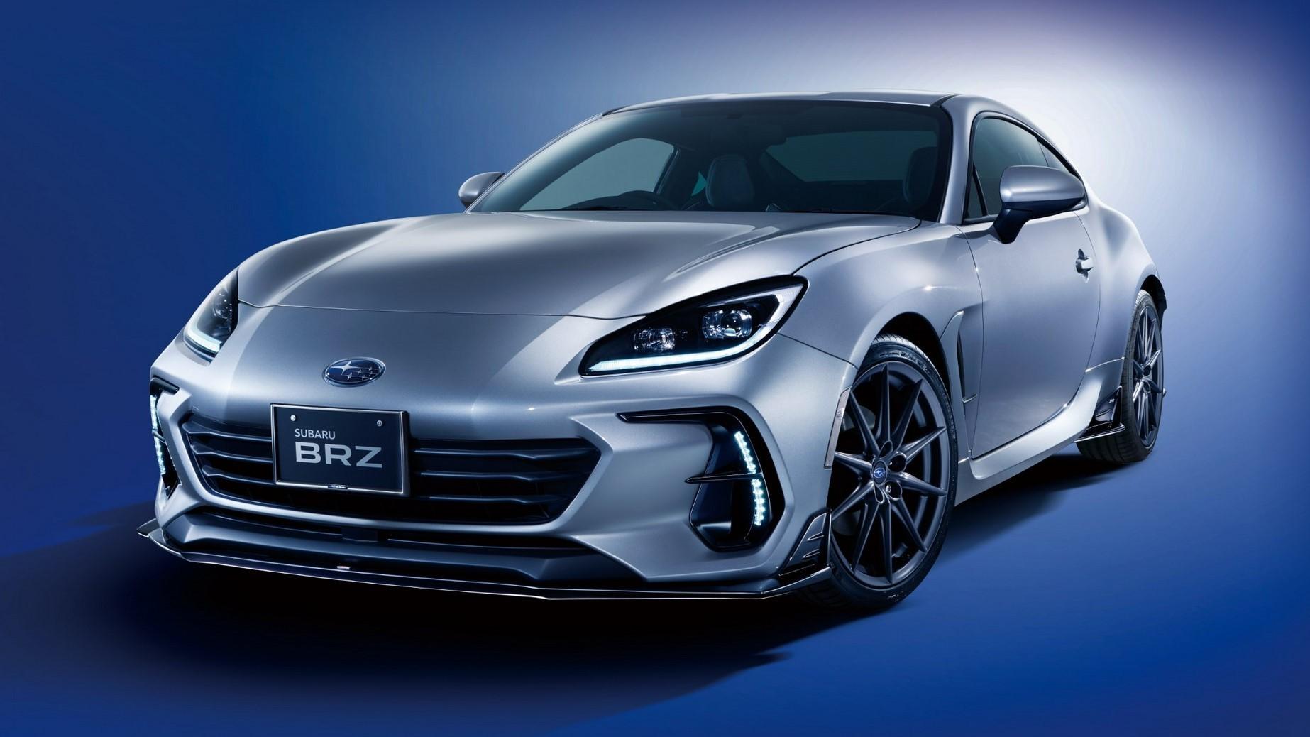 Llegan las STI Performance Parts para el nuevo Subaru BRZ