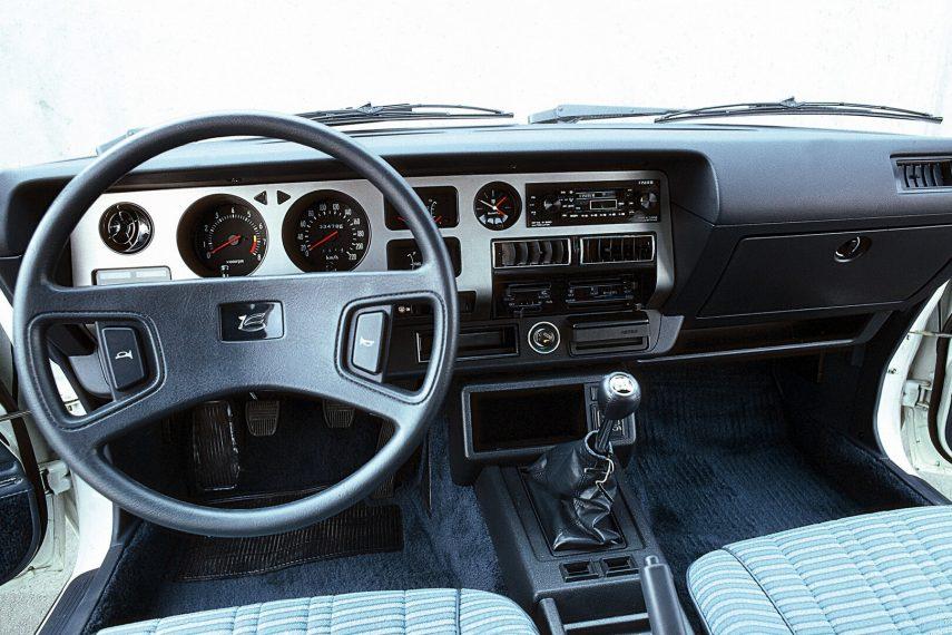 Toyota Celica GT Coupe interior TA40 1979
