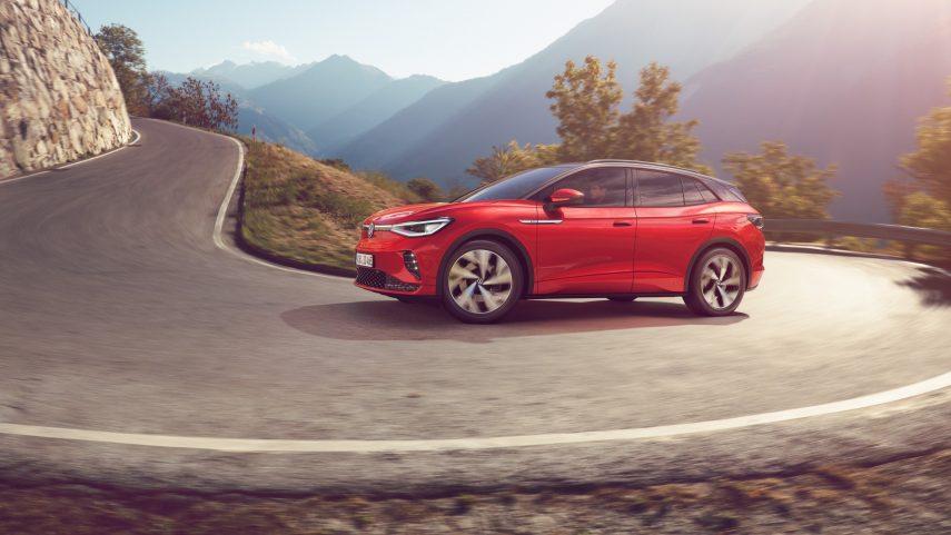 Volkswagen ID.4 GTX, el eléctrico más prestacional de la casa