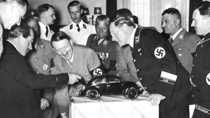 Volkswagen Porsche Hitler