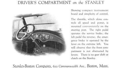 1922 Stanley Steamer Model 740 tecnica 1