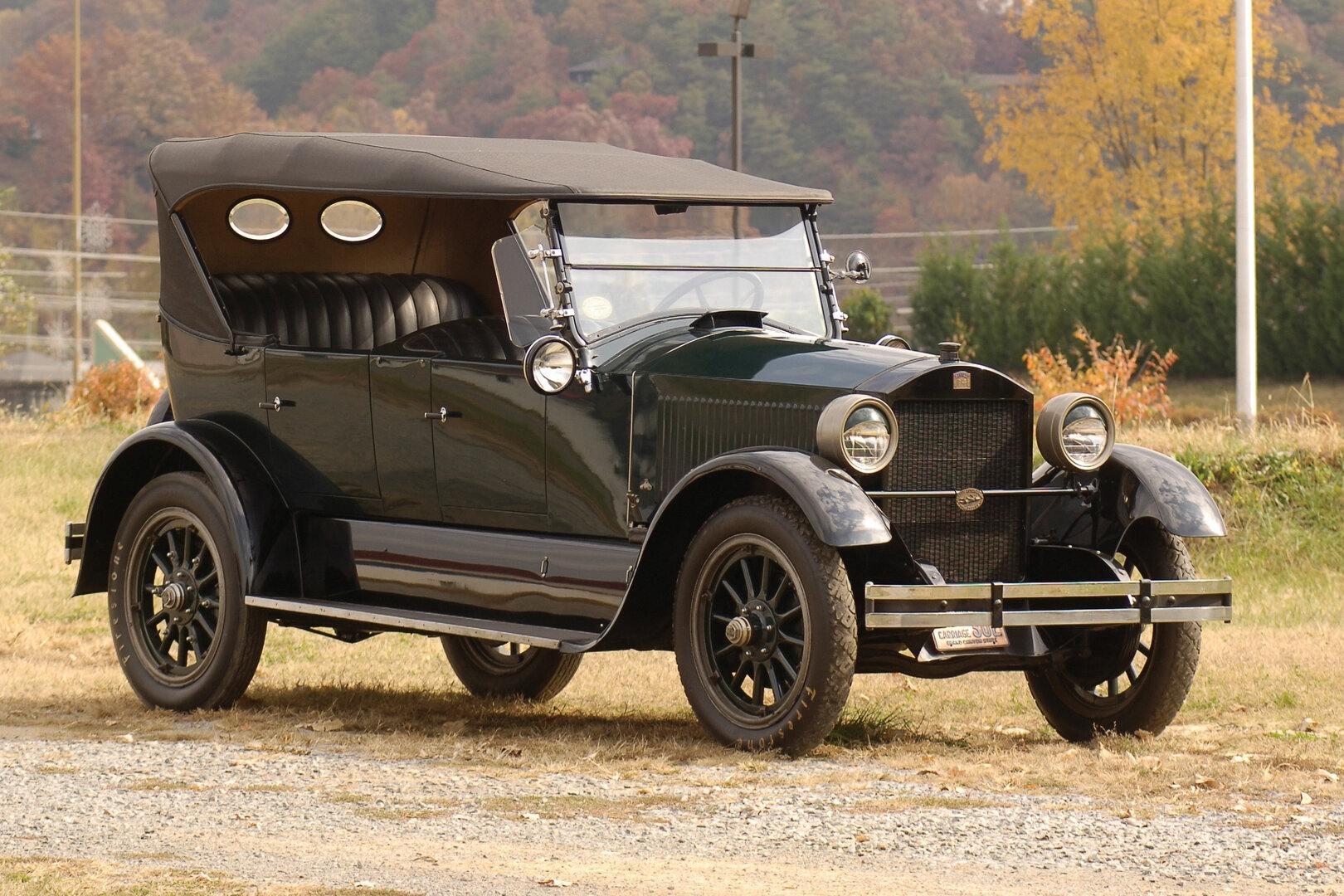 Coche del día: Stanley Steamer Model 740