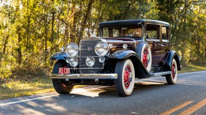 1930 Cadillac V16 452 Club Sedan by Fleetwood