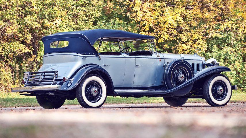 1932 Cadillac V16 452 B Sport Phaeton
