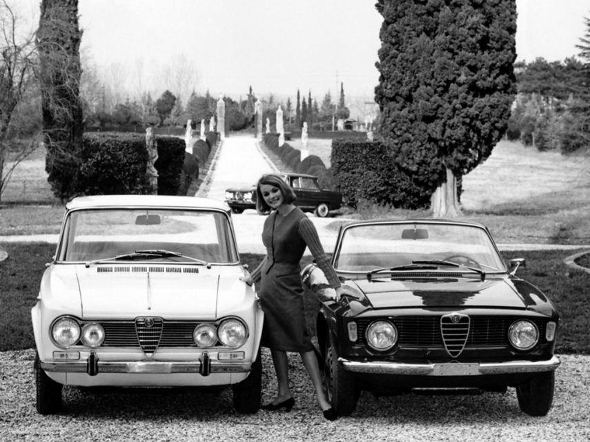 Alfa Romeo Giulia TI Spider