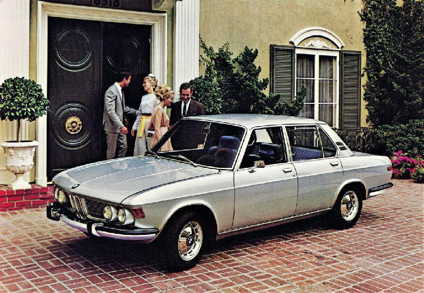 Coche del día: BMW 2800 (E3)