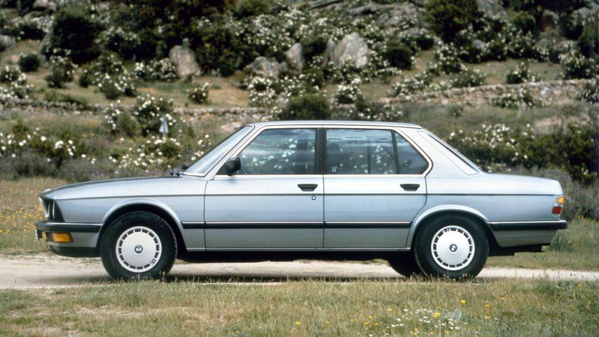 BMW 524 td E28 2