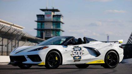 Chevrolet Corvette pace car Indy 500 (1)