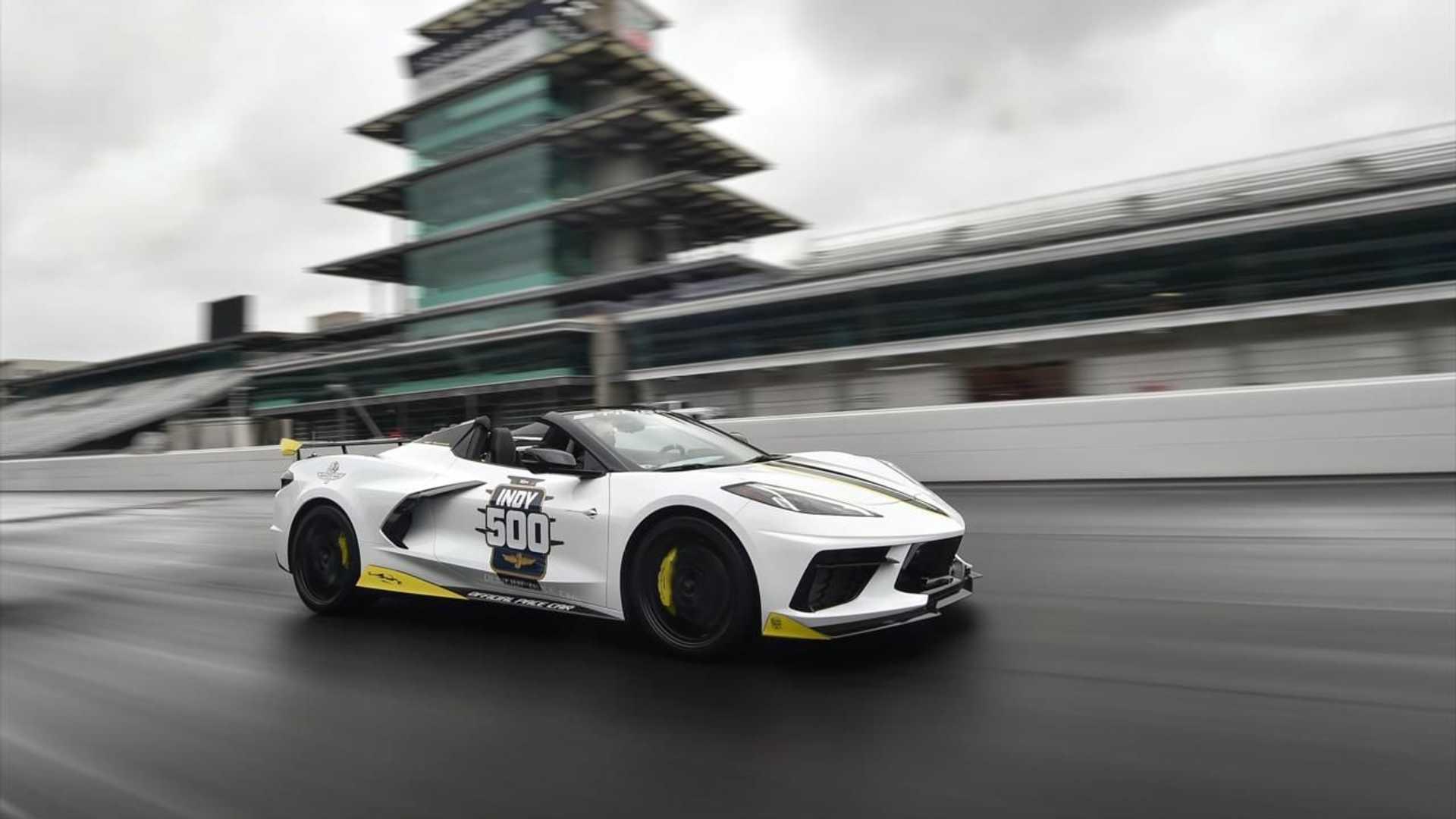 El Chevrolet Corvette Stingray Convertible será el coche de seguridad de la Indy 500