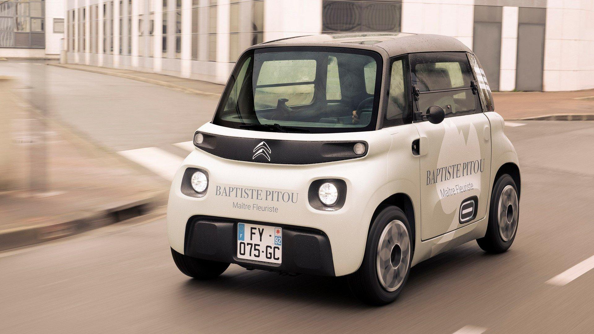 Citroën My Ami Cargo, idílico para la jungla urbana
