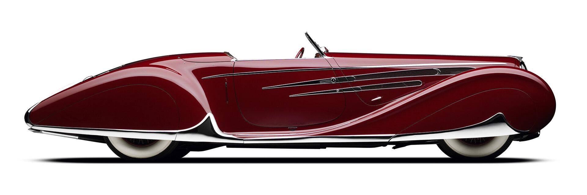 Delahaye Type 165 Cabriolet par Figoni et Falaschi 4