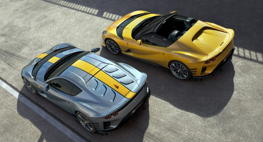 Ferrari 812 Competizone y Ferrari 812 Competizone A 2021