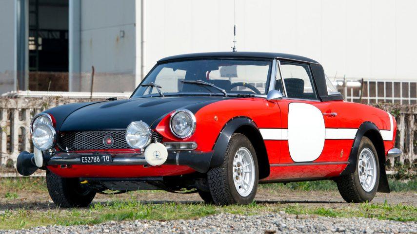 Coche del día: Fiat Abarth 124 Rally