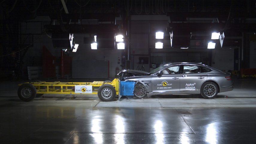 Genesis se estrena en Europa con cinco estrellas Euro NCAP