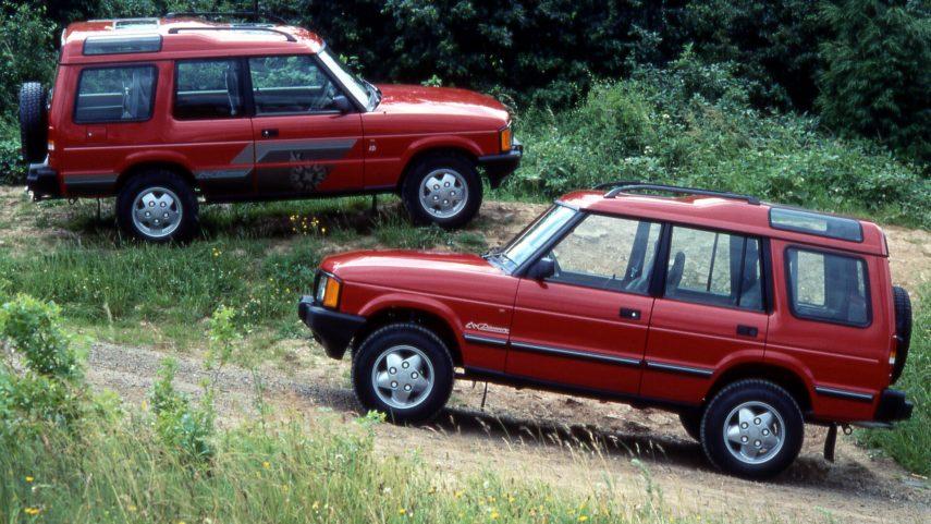 Coche del día: Land Rover Discovery (Series I)
