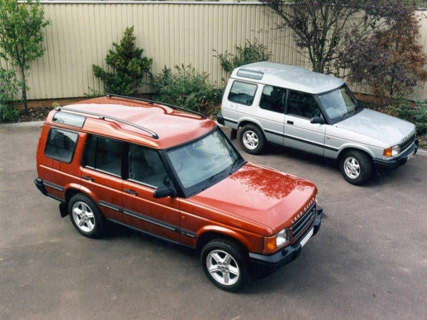 Land Rover Discovery Series I 5p 1994 4