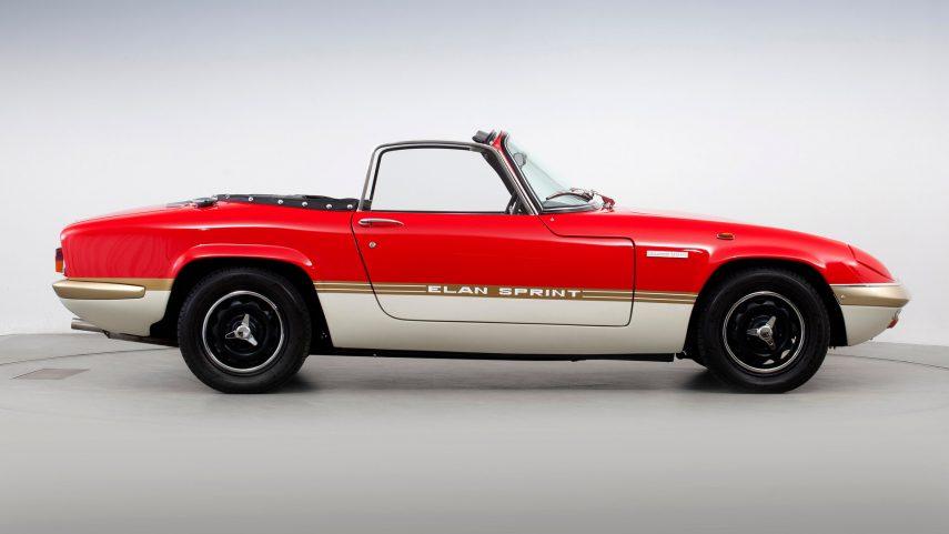 Lotus Elan Sprint Drop head Coupe Type 45