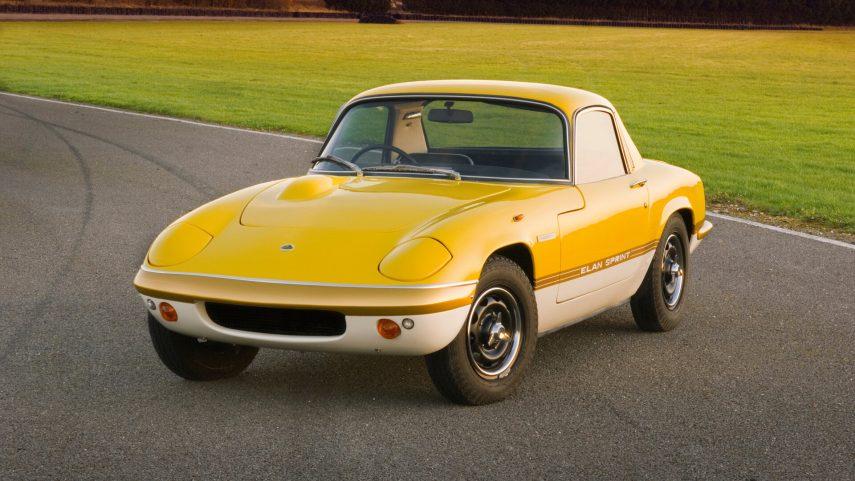 Lotus Elan Sprint Fixed head Coupe Type 36