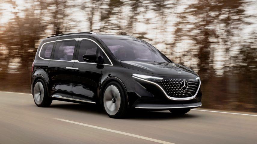 Mercedes-Benz Concept EQT, un anticipo de la futura Clase T eléctrica