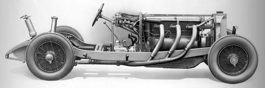 Mercedes Benz SSK 4