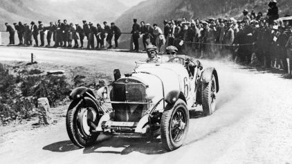 Mercedes Benz SSK Klausen Pass 1930