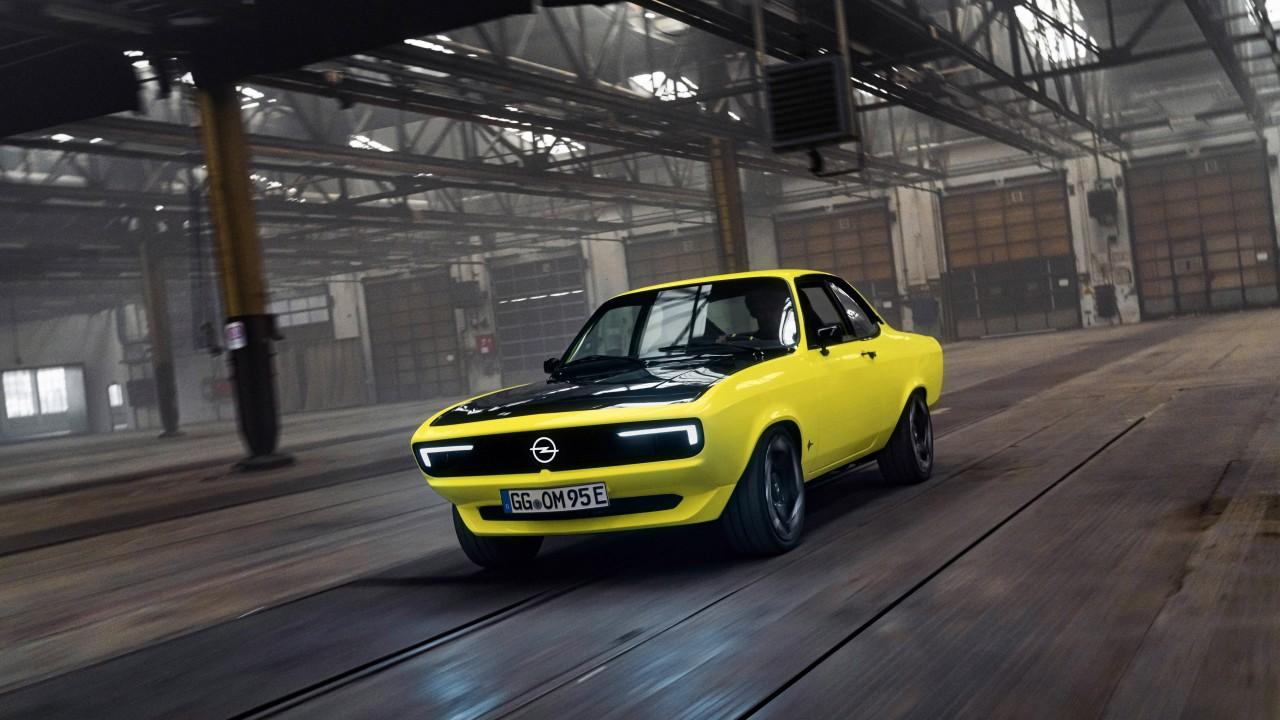 Opel Manta GSe ElektroMOD, reviviendo tiempos pasados en el futuro