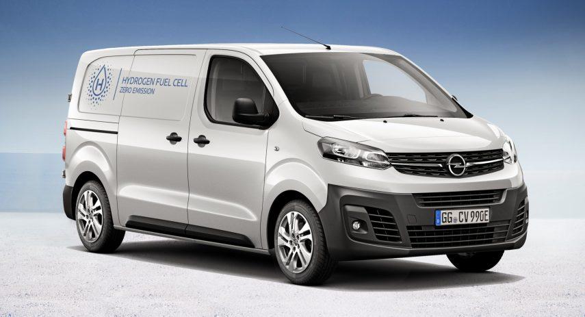 Opel Vivaro e Hydrogen 2021 (2)