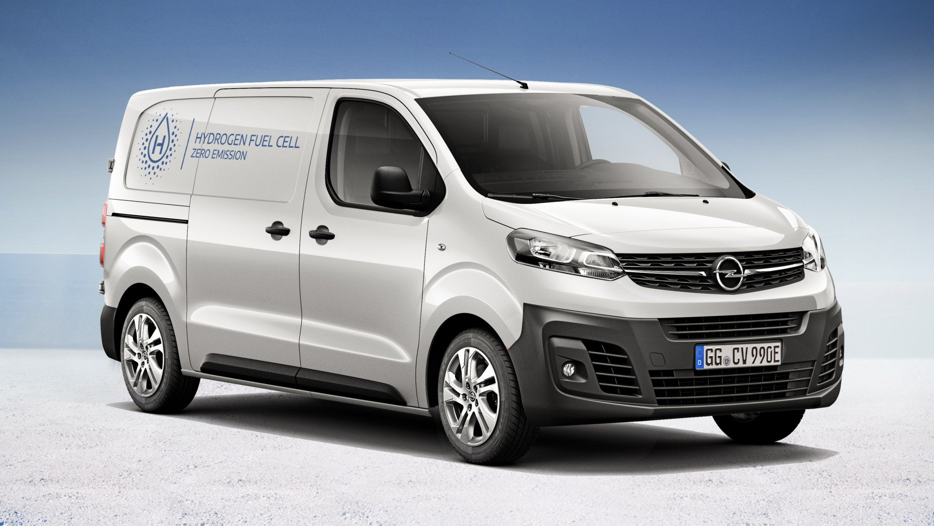La Opel Vivaro-e Hydrogen 2021 aúna las bondades de la electricidad y de los combustibles fósiles