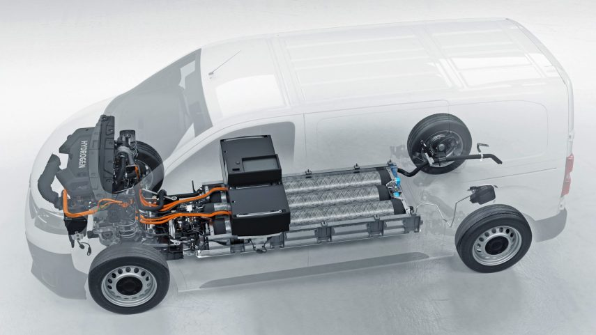 Opel Vivaro e Hydrogen 2021 (3)