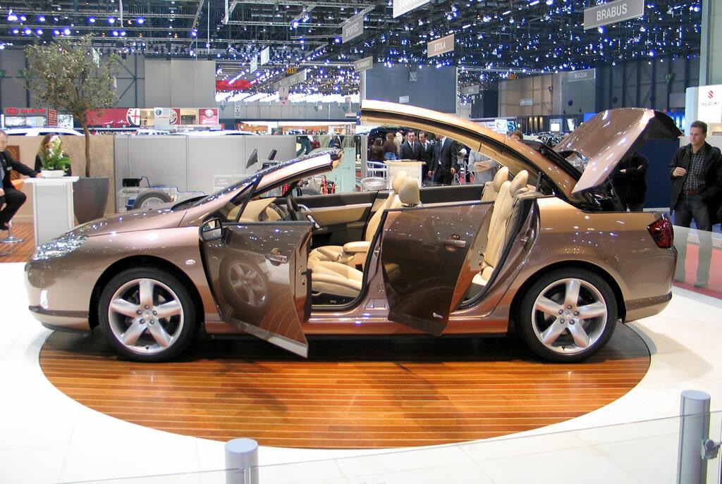 Coche del día: Peugeot 407 Heuliez Macarena Concept