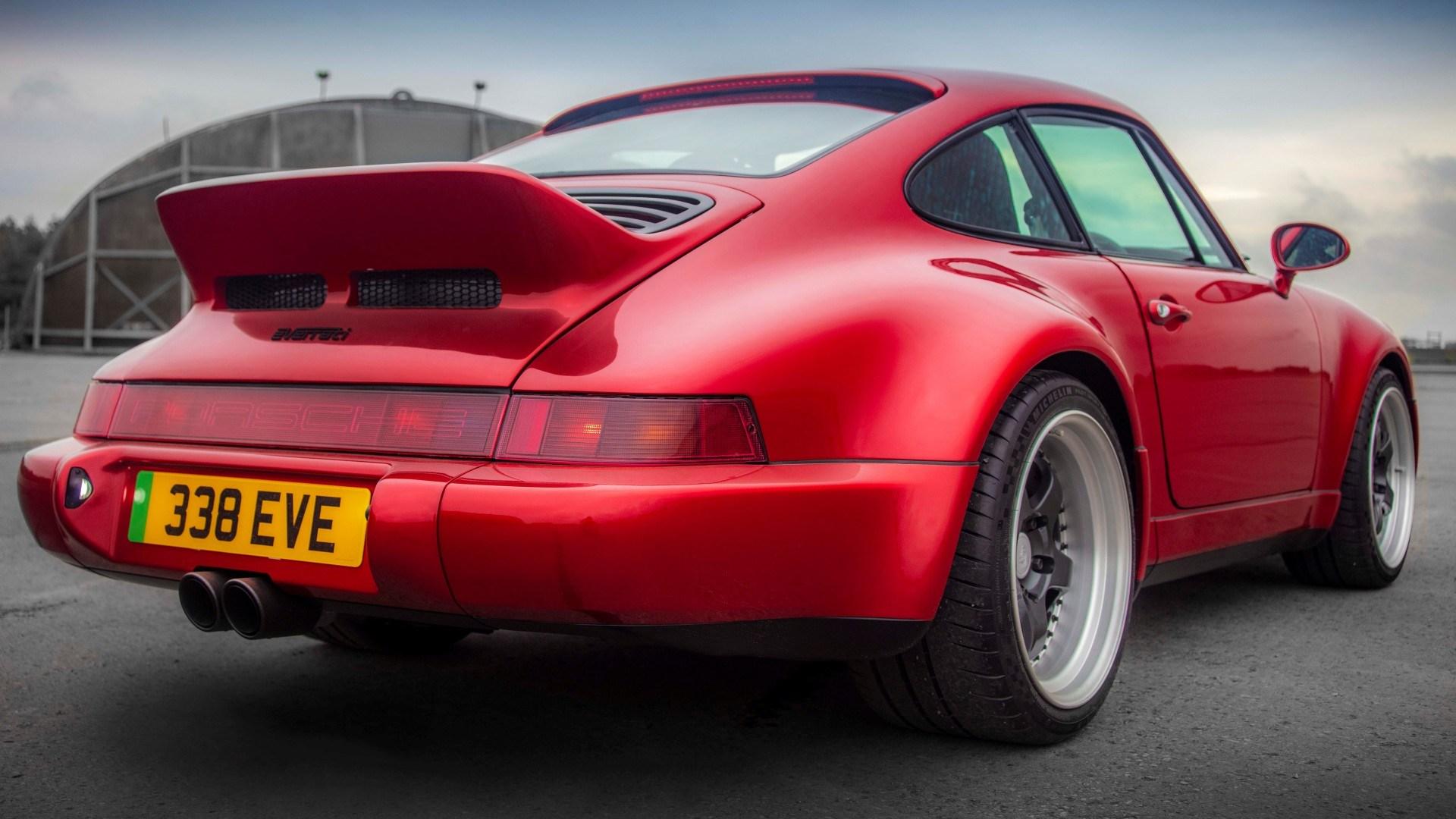 Porsche 911 (966) Everrati Restomod Electrico