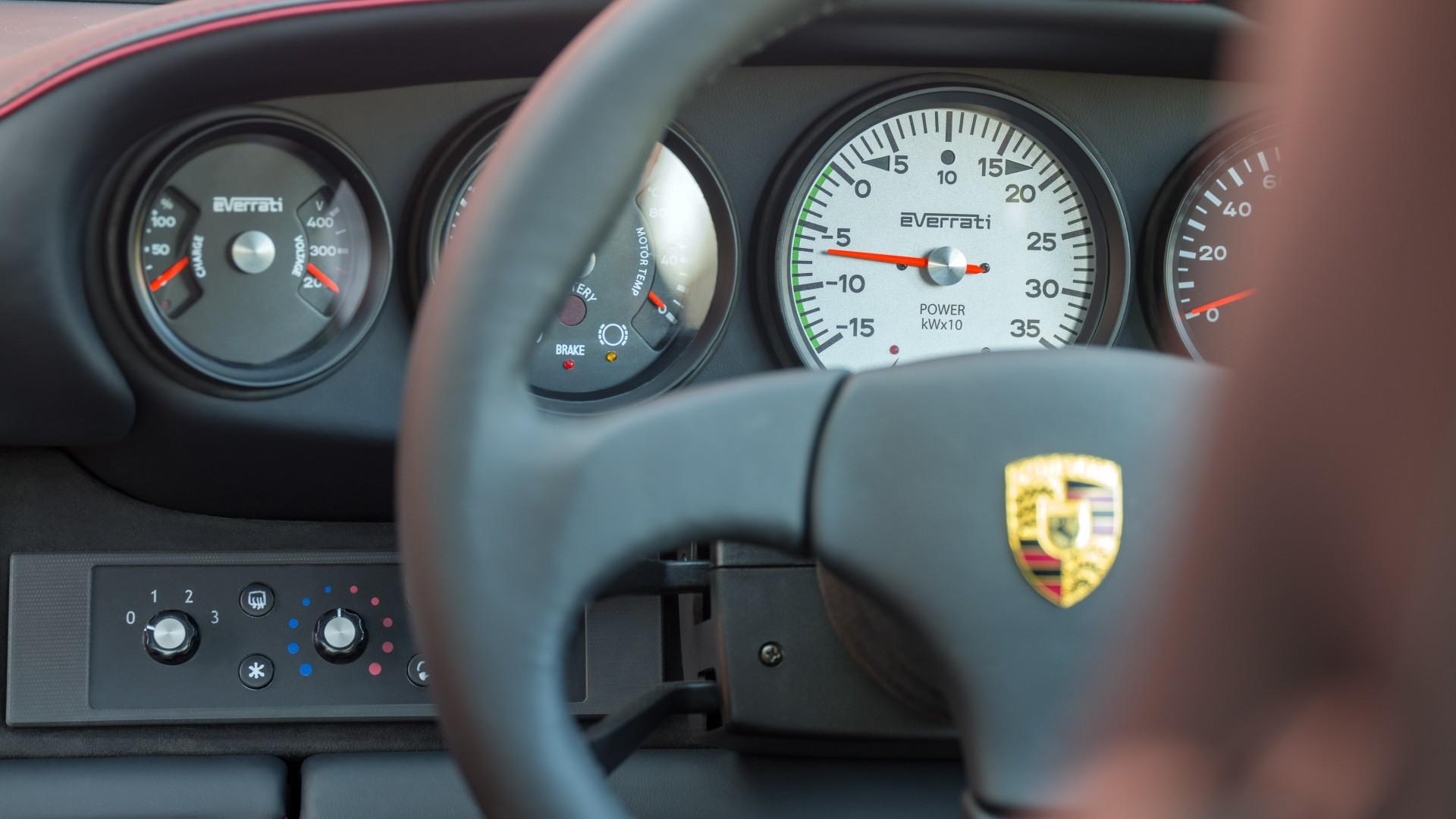 Porsche 911 (972) Everrati Restomod Electrico
