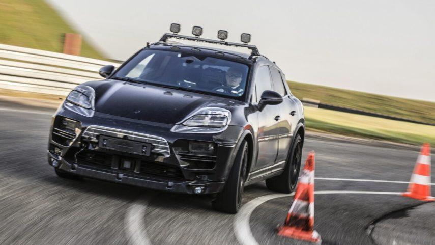 El Porsche Macan eléctrico llegará en 2023