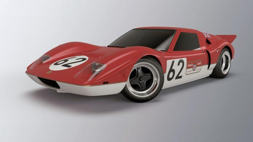 Radford Motors Lotus Type 62 render