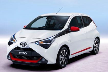 Toyota Aygo blanco 2018 1