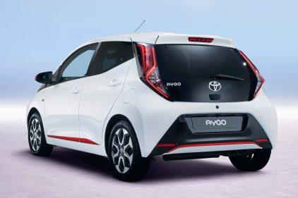 Toyota Aygo blanco 2018 2